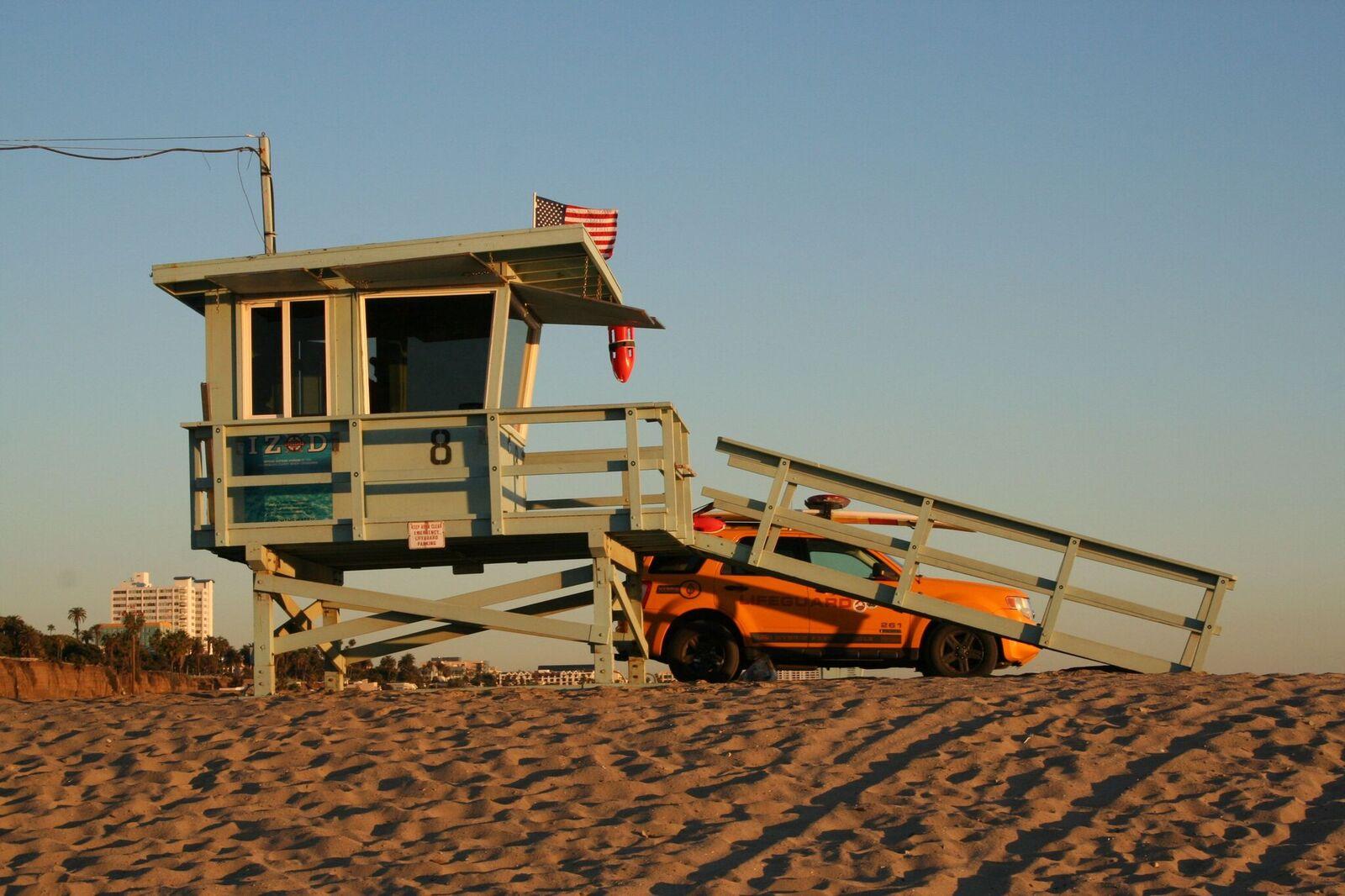 Kalifornian rannat hengenpelastajineen ovat tuttuja myös monelle suomalaiselle tv-katsojalle.