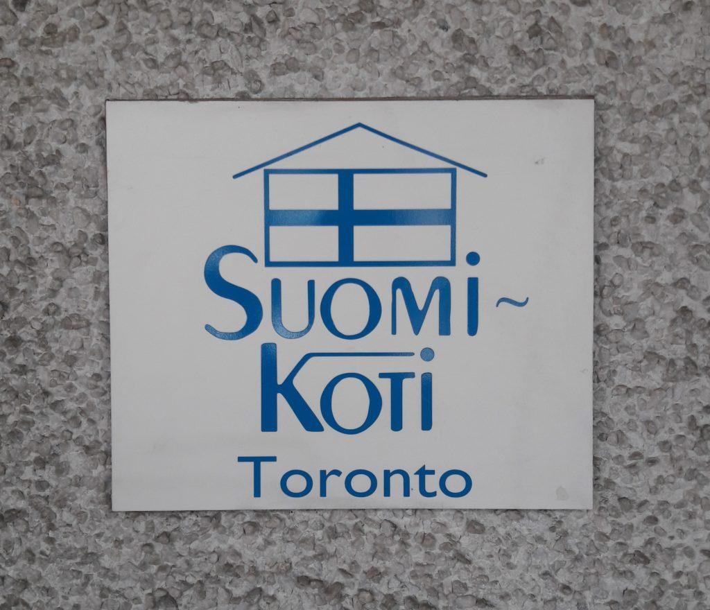 Noin 15.000:llä suomalaistaustaisella on koti Torontossa. Osalla heistä se on Suomi-Koti. Kuva: Emilia Karvinen.