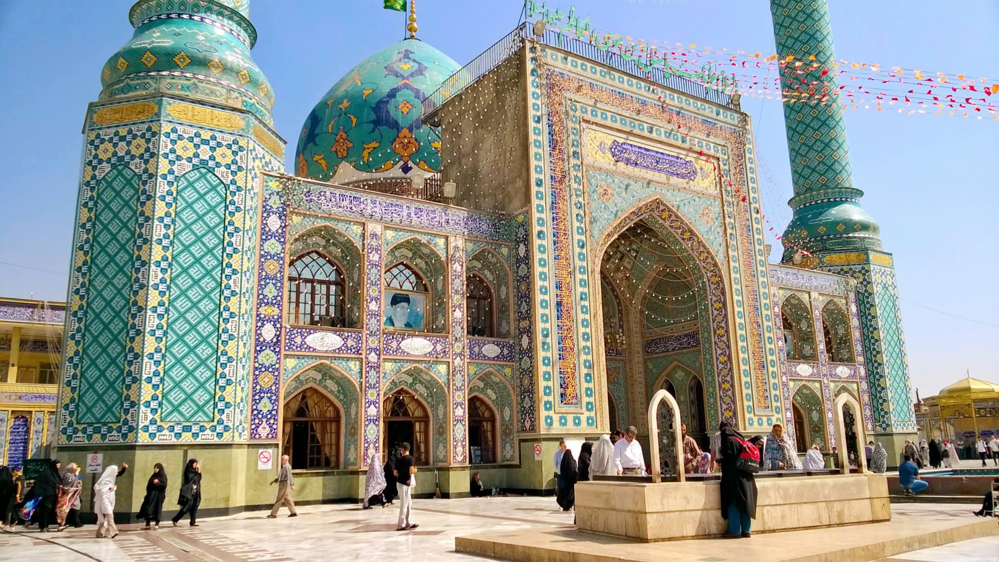 Iraniin matkaava tulee takuulla hämmästymään positiivisesti. Kuvassa Emamzadeh Saleh Teheranista. Kuva: Harri Toikkanen