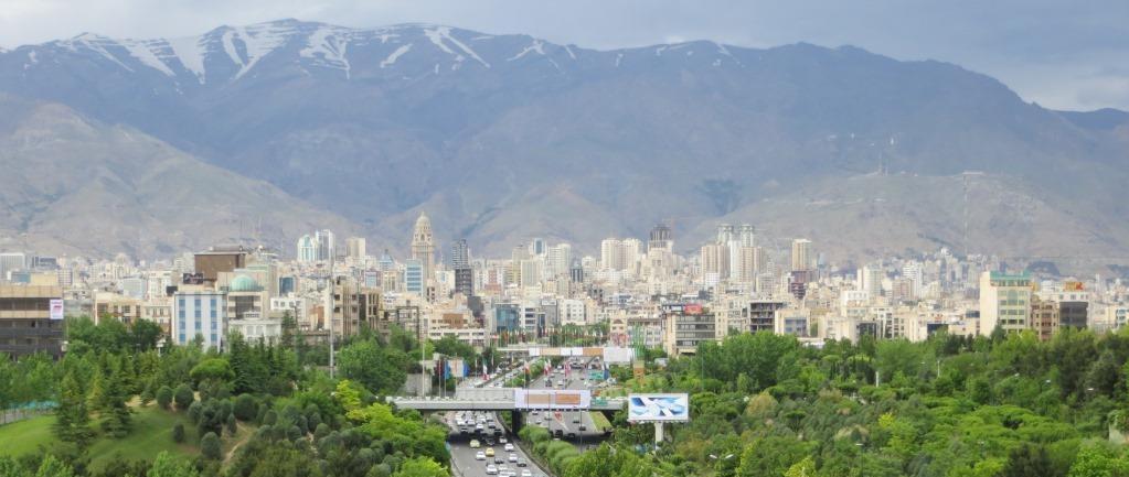 Teheranin kaupunkinäkymää. Kuva: Suomen Teheranin suurlähetystö