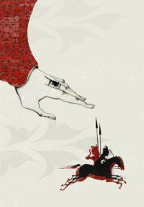 Kuvitusta tarinaan kuningas Fereidunista. Kuva: Otava