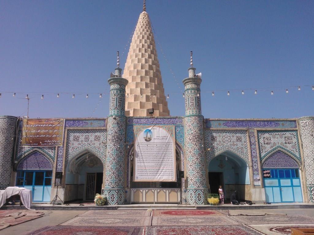 Profeetta Danielin hautamonumentti Shushissa.
