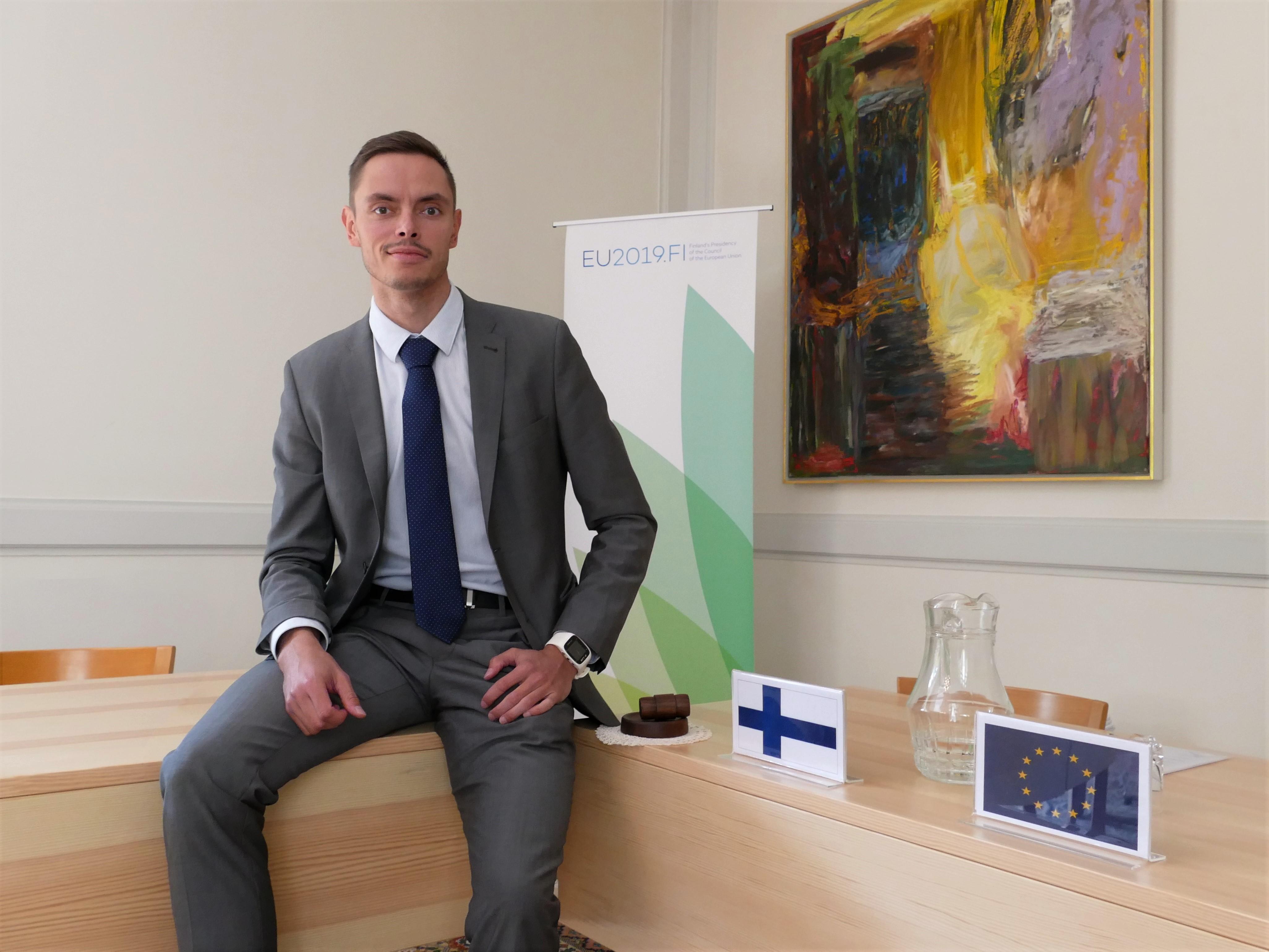 Suomen johtamissa EU-kokouksissa Teheranissa on riittänyt mielenkiintoisia aiheita keskusteltavaksi syksyn 2019 aikana. Kuva: Mikko Kangas