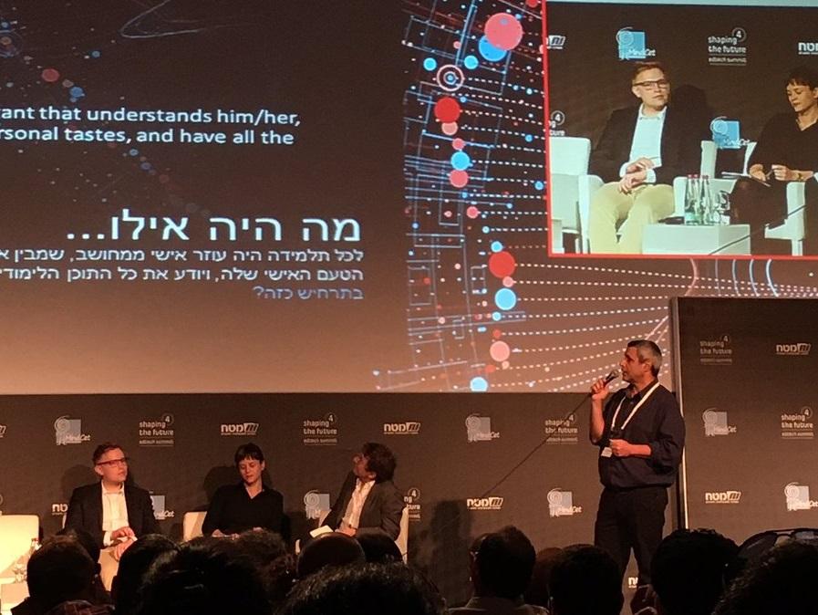 Shaping the Future -konferenssin paneelikeskustelu, Tel Aviv. Kuva: Maria Tuomela