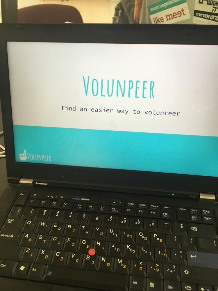 Volunpeer on tietokoneohjelma, jonka tarkoituksena on auttaa lukiolaisia löytämään taksvärkkipaikka.