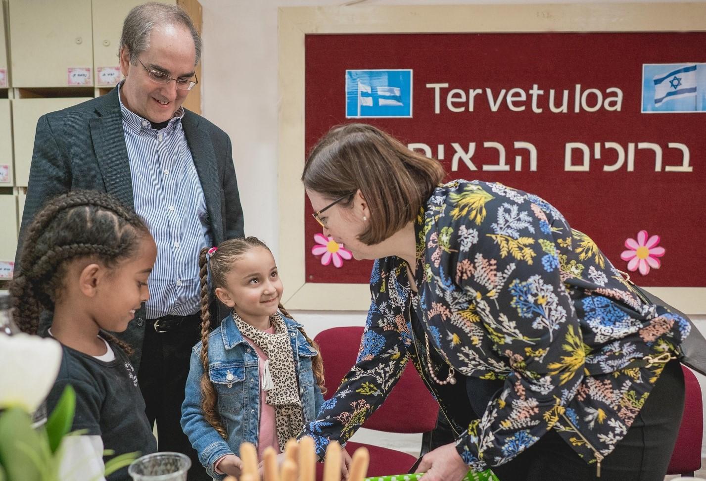 Professori Marja-Kristiina Lerkkanen vieraili vuonna 2018 Israelin koulutusinnovaatiokeskuksen projektikouluissa ja oli vaikuttunut siitä, miten keskus kouluttaa maahanmuuttajalasten perheitä tukemaan lastensa koulunkäyntiä uudessa kotimaassa