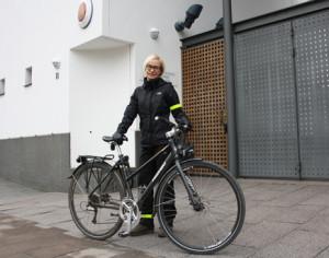 Helena Andersson är informationsassistent, översättare och IT-ansvarig