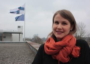 Hanna Tapio arbetar bland annat med kulturfrågor på Finlands ambassad i Stockholm