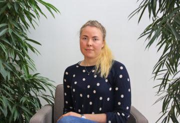 Laura Niemonen var praktikant på ambassaden från maj till september