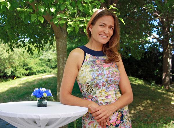 Niina Nikkanen är ambassadörens assistant.