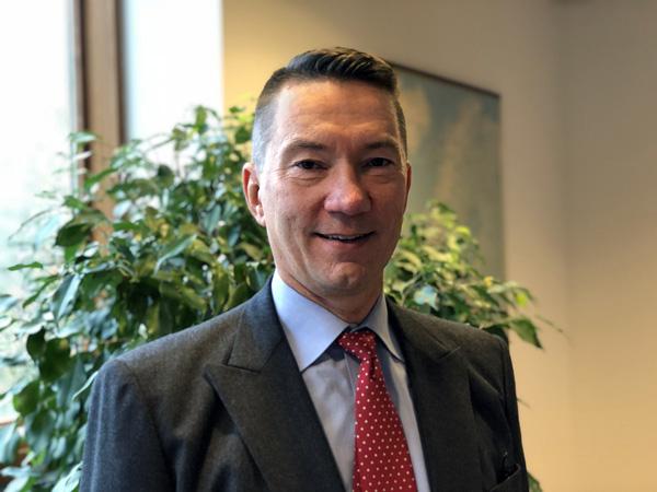 Jouni Laaksonen är minister och ställföreträdande beskickningschef vid Finlands ambassad i Stockholm.