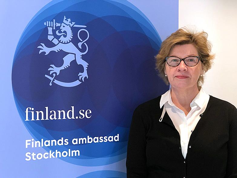 Anne Malinen-Williams är chef för konsulatet vid Finlands ambassad i Stockholm