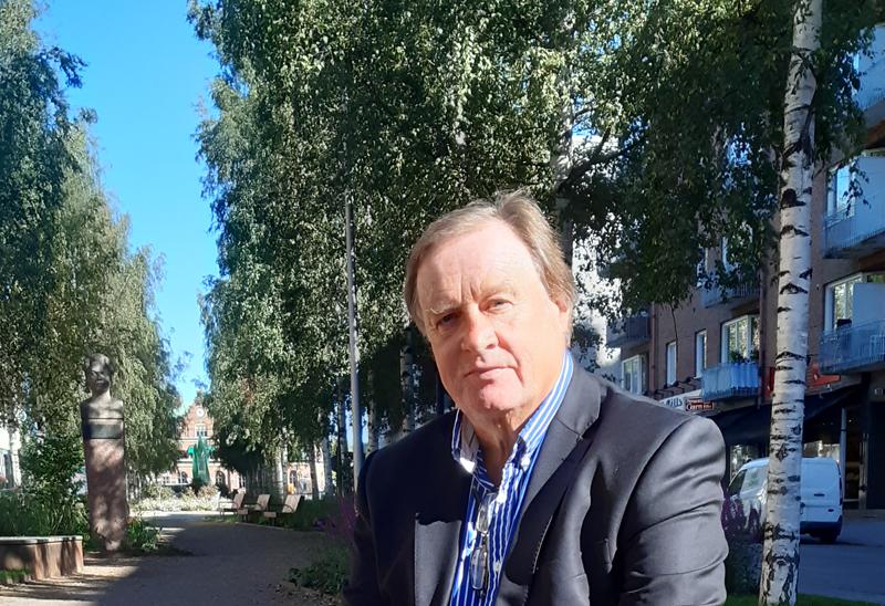 Finlands honorärkonsul i Umeå Johan Björk