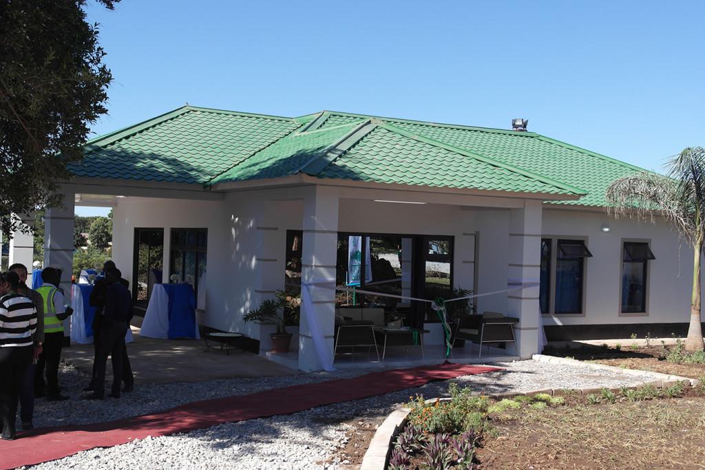 ILOn vetämän vihreän rakentamisen hankkeen ensimmäinen demotalo
