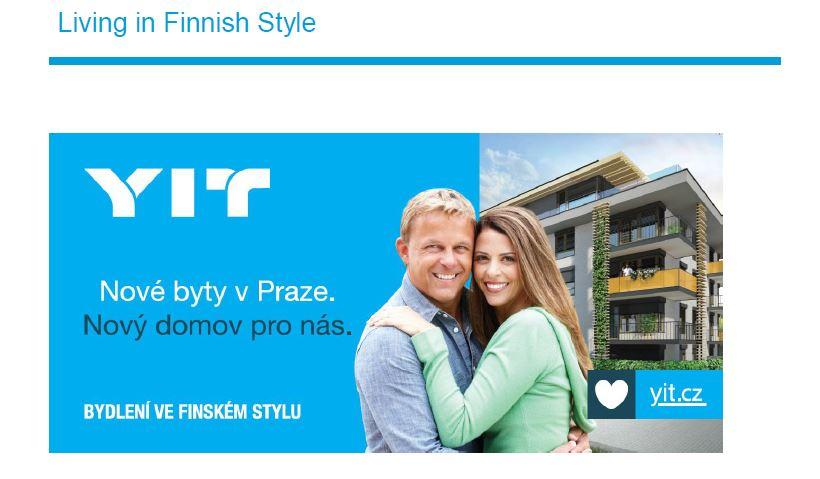 Laatuasuntojen myyntiä edistetään Suomeen liittyvillä myönteisillä mielikuvilla. Kuva: YIT Stavo