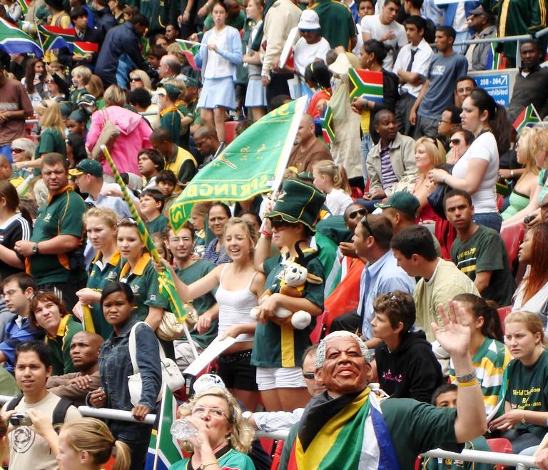 Eteläafrikkalaiset ovat hulluina Rugbyyn. Kuva: Flickr/ Warrenski