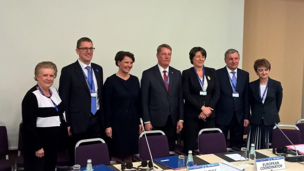 Riiassa kesällä 2015 pidettyjen TEN-T päivien yhteydessä Viro, Latvia ja Liettua sekä Suomi ja Puola allekirjoittivat yhteisen julistuksen, jossa todetaan Rail Baltica -hankkeen tärkeys ja asetettiin toteuttamisen tavoitteet. Suomea edusti ministeri Berner.