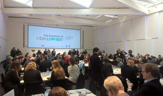 """Tanskan työnantajien järjestö järjesti maaliskuussa """"The Business of Development"""" seminaarin, jossa keskityttiin järjestön asettamiin kestävän kehityksen tavoitteisiin."""