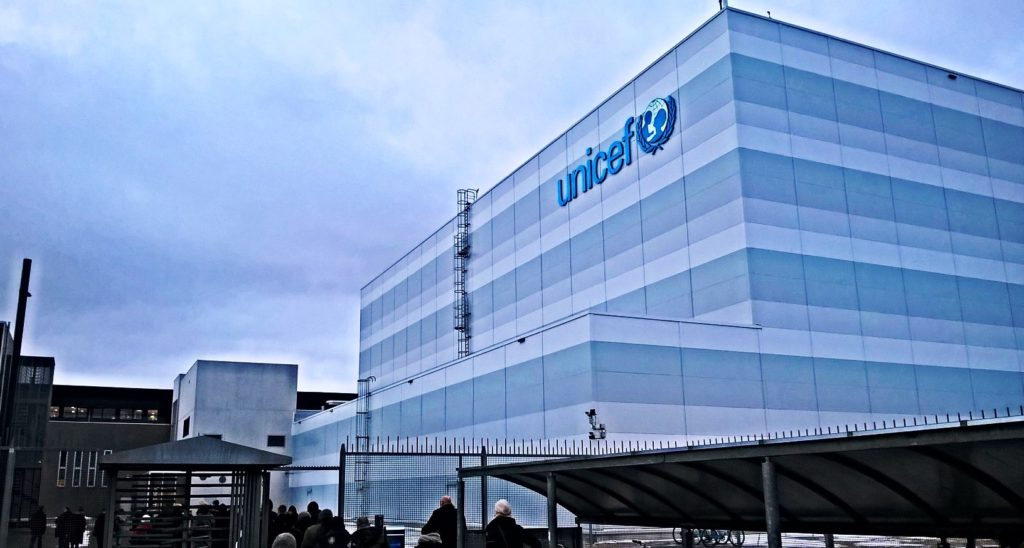 UNICEFin pääkonttori Kööpenhaminassa. Kuva: Sinikka Antila