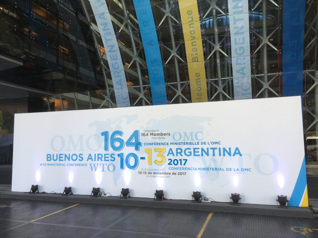 WTO:n ministerikokous Buenos Airesissa joulukuussa 2017. Kuva: Pasi-Heikki Vaaranmaa