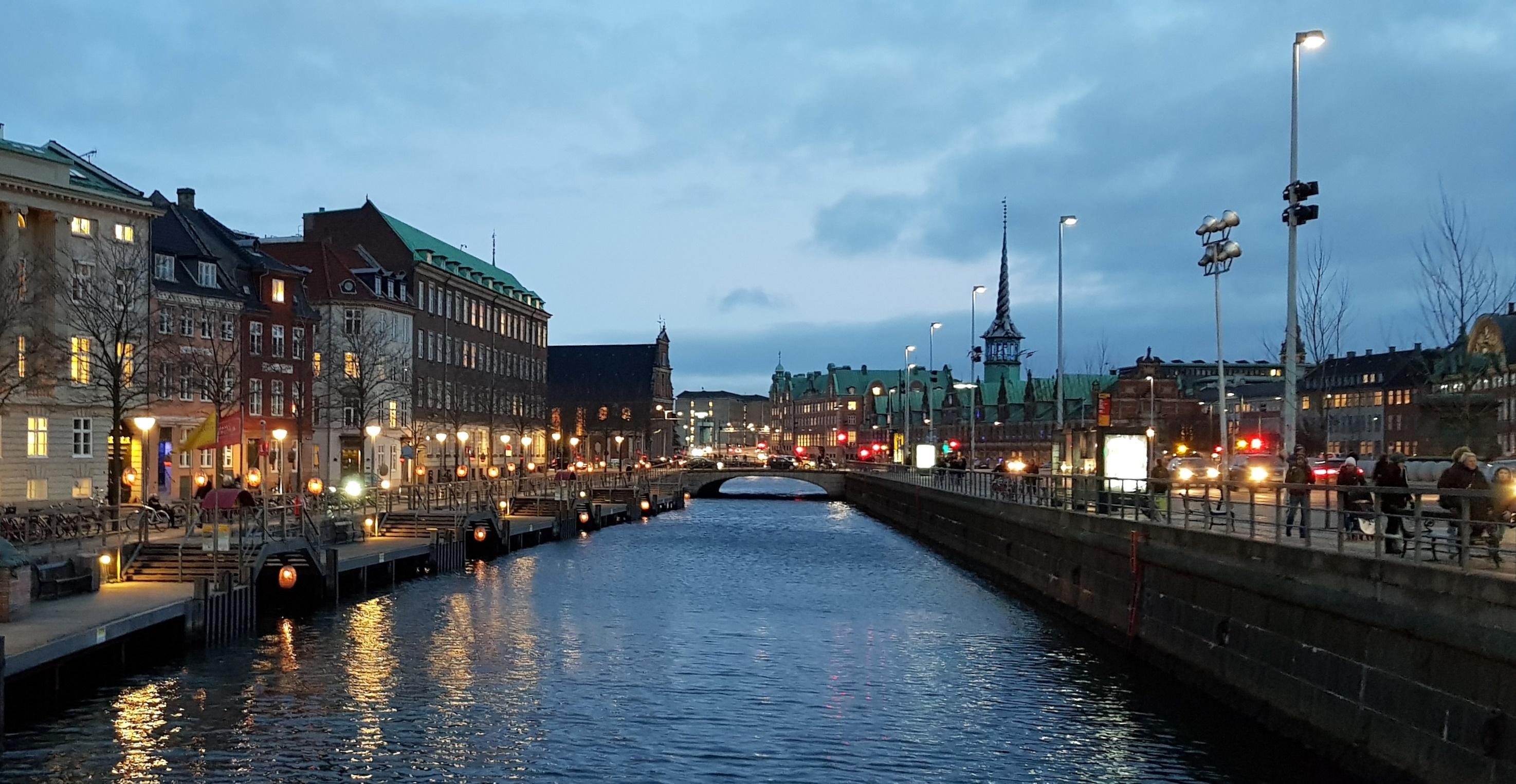 Kaupunkinäkymää Kööpenhaminasta