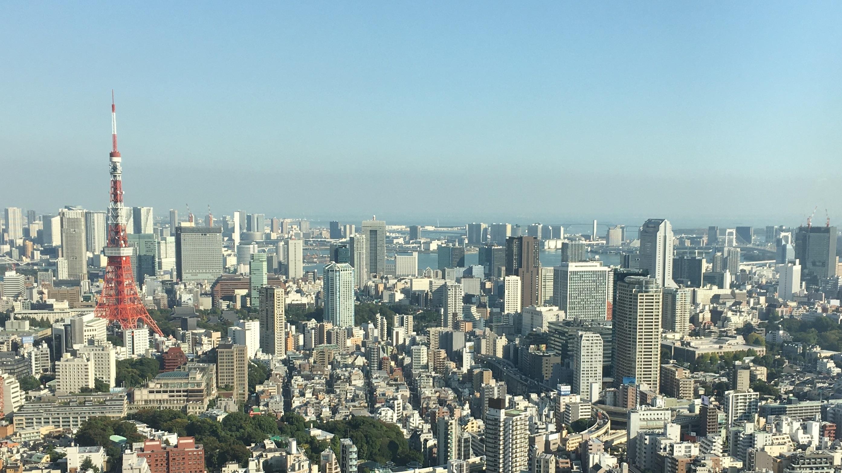 Tokyo Tower on jopa esikuvaansa korkeampi. Kuva: Ari Honkanen.