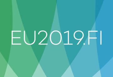 Suomen EU-puheenjohtajakauden EU2019.FI-logo
