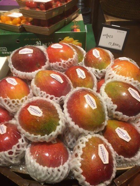 Yksittäispakattuja mangoja