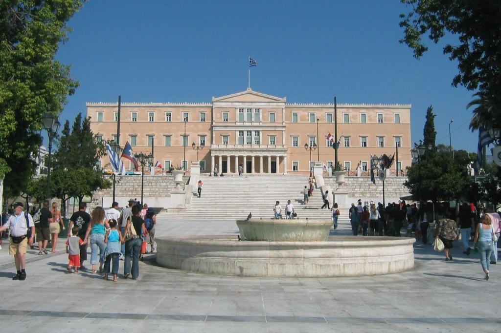 Kreikan parlamentti. Kuva: Wally Gobetz / CC by 2.0