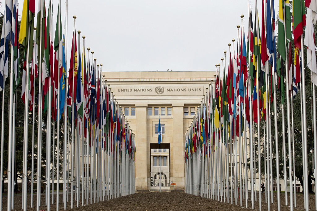 YK:n Palais des Nations Genevessä. Kuva: UN Photo