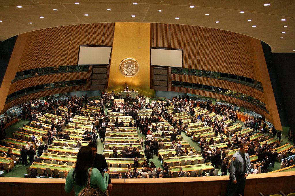 YK:n 71. yleiskokouksen korkean tason viikko alkaa maanantaina 19. syyskuuuta. Kuva: Flickr.